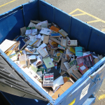 Would you eat out of this dumpster of knowledge? Photo by flickr user brewbrooks.