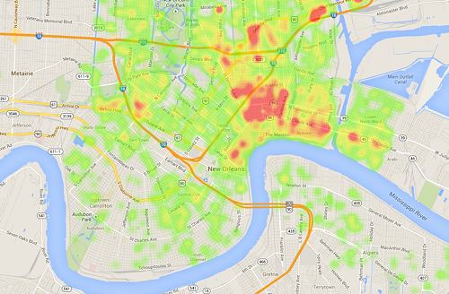 black crimes in new orleans Exclusive crime heat map and statistics for neighborhoods within new orleans,  new features , products, or  a victim of one of these crimes in new orleans is.